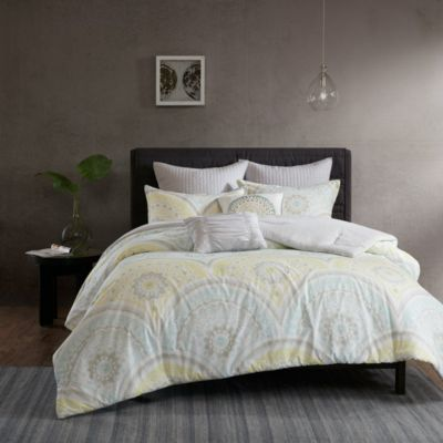 Hampton Hill Matti 7-Piece King Duvet Cover Set