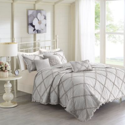 Hampton Hill Rosie 6-Piece King Coverlet Set