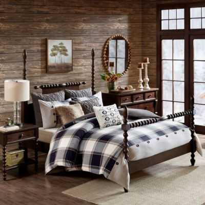 Hampton Hill Urban Cabin 8-Piece Queen Comforter Set