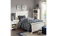 Hampton Hill Starry Night 3-Piece Twin Coverlet Set