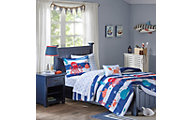 Hampton Hill Sealife 6-Piece Twin Comforter/Sheet Set