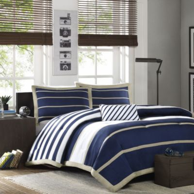 Hampton Hill Ashton 3-Piece Twin Comforter Set