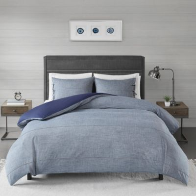 Hampton Hill Raven 3-Piece King Duvet Cover
