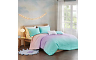 Hampton Hill Glimmer 3-Piece Twin Duvet Cover