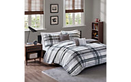 Hampton Hill Rudy Plaid 4-Piece Twin Coverlet Set