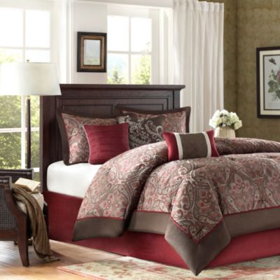 Hampton Hill Talbot 7-Piece Queen Comforter Set