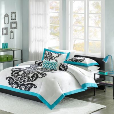Hampton Hill Florentine 3-Piece Twin Comforter Set