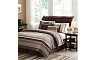 Hampton Hill Princeton 5-Piece King Coverlet Set
