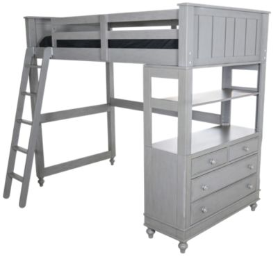 Hillsdale Furniture Lake House Gray Loft with Chest