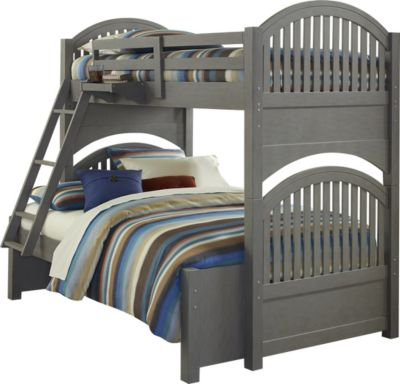 Hillsdale Furniture Lake House Gray Twin/Full Bunk Bed