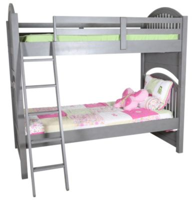 Hillsdale Furniture Lake House Gray Twin/Twin Bunk Bed