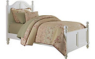 Hillsdale Furniture Lake House White Twin Bed