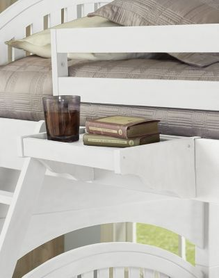 Hillsdale Furniture Lake House White Hanging Nightstand