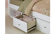 Hillsdale Furniture Lake House White Under-Bed Storage Unit