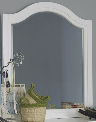 Hillsdale Furniture Lake House White Mirror