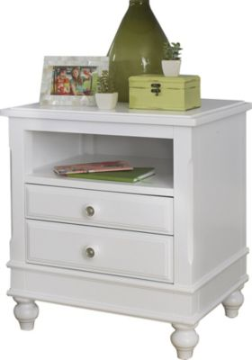 Hillsdale Furniture Lake House White Nightstand