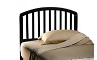 Hillsdale Furniture Carolina Black Twin Headboard