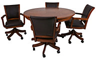 Hillsdale Furniture Park View Game Table & 4 Chairs