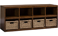Hillsdale Furniture Tuscan Retreat Storage Bench with Baskets