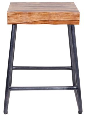Hillsdale Furniture Emerson Live Edge Stool