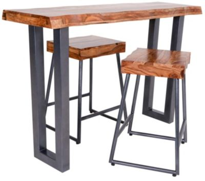 Hillsdale Furniture Emerson 3-Piece Counter Table Set