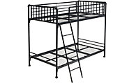 Hillsdale Furniture Brandi Black Twin/Twin Bunk Bed