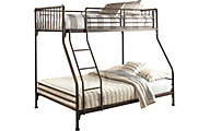 Hillsdale Furniture Brandi Oiled Bronze Twin/Full Bunk Bed