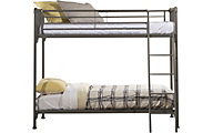 Hillsdale Furniture Brandi Stone Twin/Twin Bunk Bed