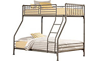 Hillsdale Furniture Brandi Stone Twin/Full Bunk Bed