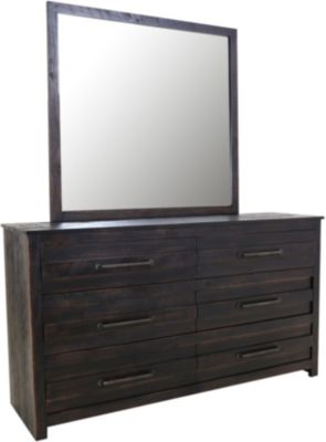 Hillsdale Furniture Villa Dresser & Mirror