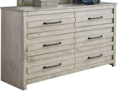 Hillsdale Furniture Villa White Dresser