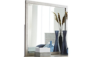 Hillsdale Furniture Villa White Mirror