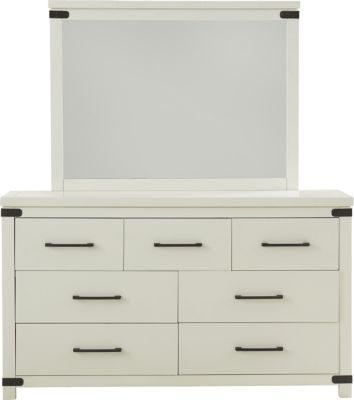Hillsdale Furniture New Castle Dresser with Mirror