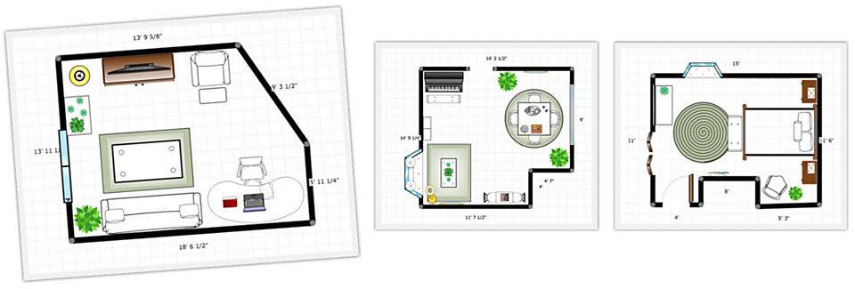 Homemakers Room Planner Sketches