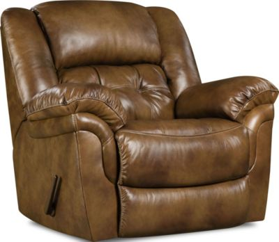Homestretch Cheyenne Leather Rocker Recliner