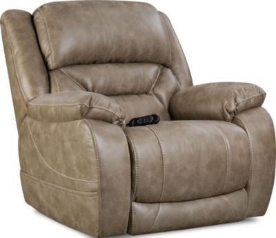 Homestretch Enterprise Recliner with Power Headrest & Lumbar