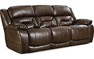 Homestretch Enterprise Sofa with Power Headrest & Lumbar