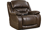 Homestretch Enterprise Brown Power Recliner