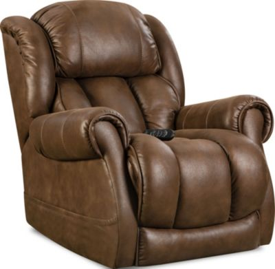Homestretch Atlantis Recliner with Power Headrest & Lumbar