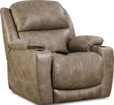 Homestretch Starship Power Recliner with Power Headrest