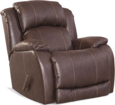 Homestretch Badlands Walnut Rocker Recliner