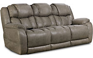 Homestretch Daytona Power Headrest & Lumbar Sofa