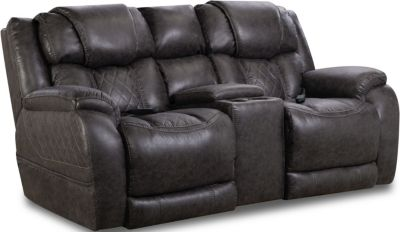 Homestretch Daytona Power Headrest Loveseat