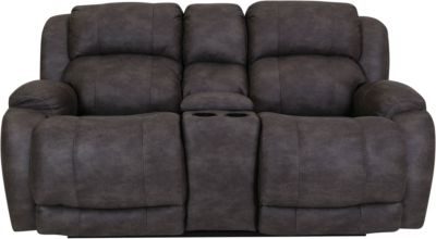 Homestretch Denali Power Reclining Console Loveseat