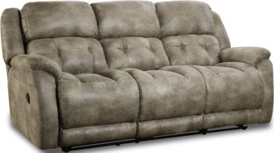 Homestretch Mclean Gray Reclining Sofa