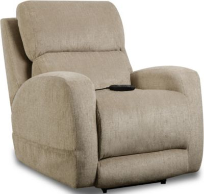 Homestretch Sterling Fawn Power Headrest Lumbar Recliner