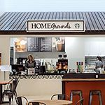 Cookies and coffee at Homemakers Furniture
