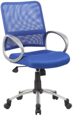 Presidential Blue Mesh Task Chair