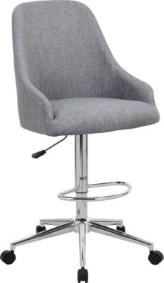 Presidential Seating Gray Drafting Stool