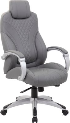 Presidential Seating B16 Collection Gray Executive Office Chair